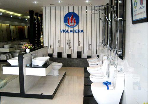 Showroom đại lý bán thiết bị vệ sinh Viglacera tại quận 3 quận 5 quận 6
